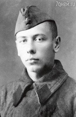Старший сержант Анатолий Папанов. 1942 г.