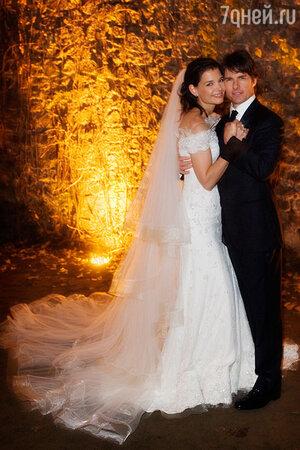 Свадьба Тома Круза и Кэти Холмс.2006 г.