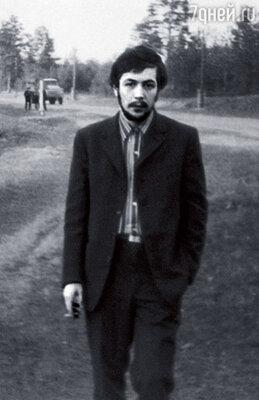Таким я был в самом начале  70-х, накануне встречи юдмилой Марковной