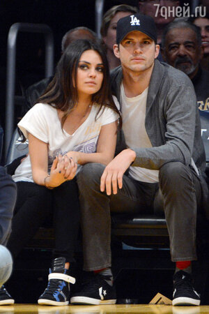 Эштон Катчер (Ashton Kutcher) и МилаКунис (Mila Kunis)