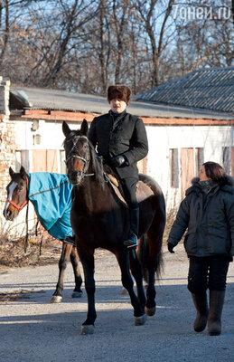 Пореченков учился верховой езде еще втеатральном институте