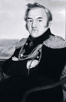 Фото репродукции портрета Михаила Лазарева