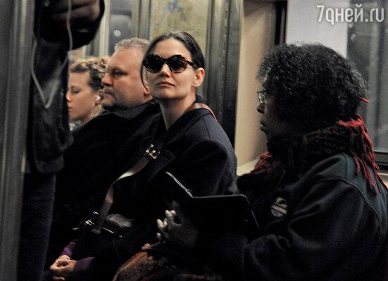В нью-йоркском метро
