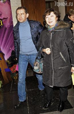 Константин Хабенский с мамой