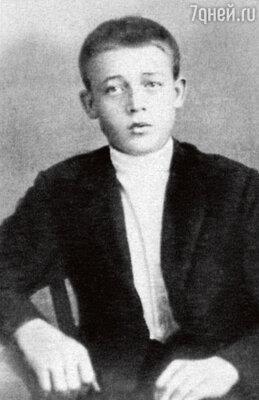 Первый сценический опыт Лемешев получил в школе для одаренных крестьянских детей. 1917 г.