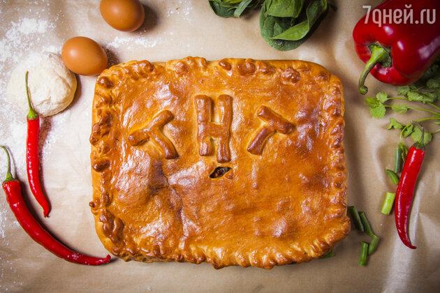 Овощной пирог с зеленью: рецепт от ведущей Лены Усановой