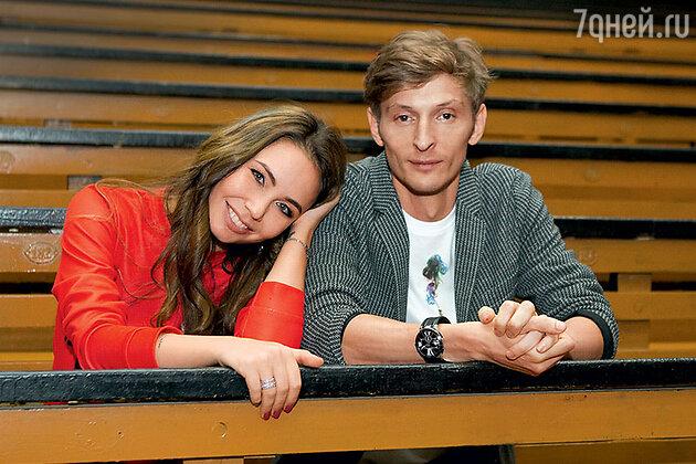 Ляйсан Утяшева с мужем Павлом Волей