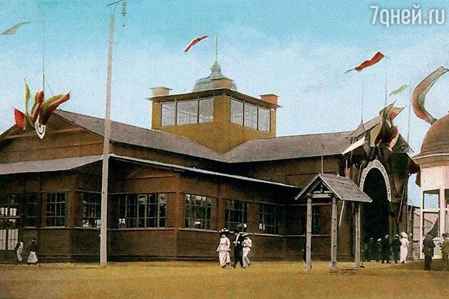 Салон воздухоплавания на Одесской выставке
