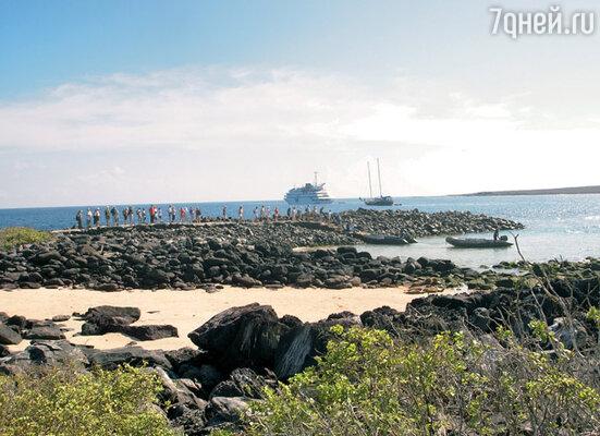 Первые шаги по островамне всегда впечатляют туристов...