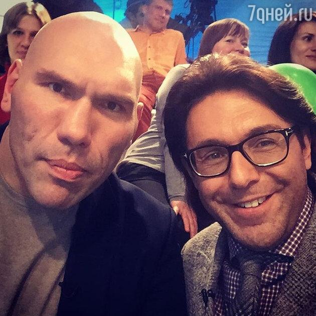 Андрей Малахов и Николай Валуев