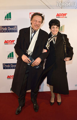 Михаил Борщевский с супругой