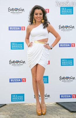 Азербайджанская певица Сафура - фаворитка «Евровидения-2010»