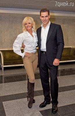Валерия и Дмитрий Дюжев