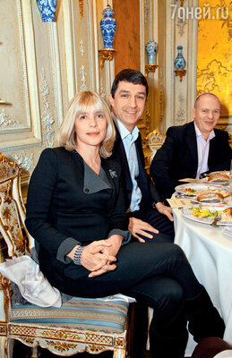 Вера Глаголева с мужем Кириллом Шубским