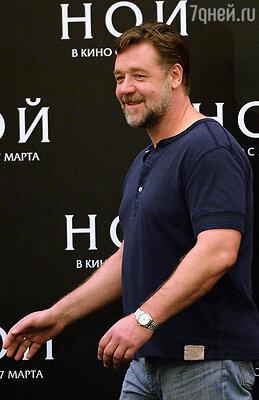 17 марта состоится пресс-конференция с Расселлом Кроу и премьера фильма «Ной»