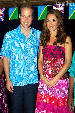 Принц Уильям и Кейт Миддлтон 2012 год