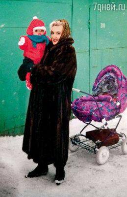 С мамой Ольгой Дмитриевной
