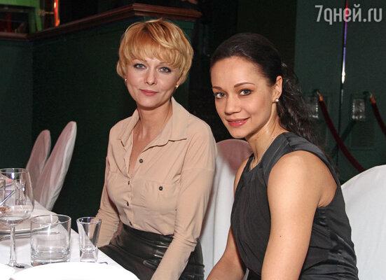 Дарья Повереннова и Ирина Чащина