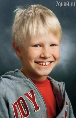Младший сын Ваня. 2006 г.