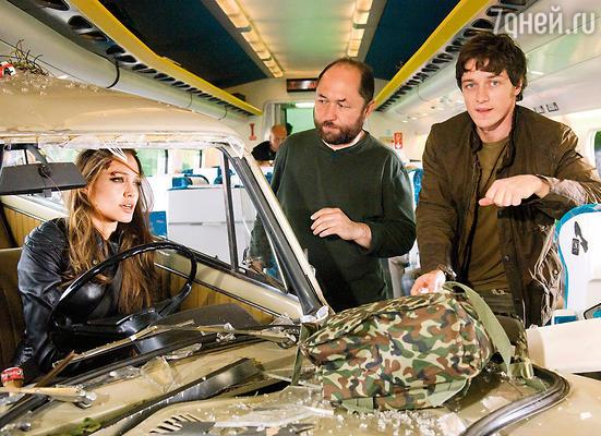 «Особо опасен» — фильм Тимура Бекмамбетова, в котором МакЭвой сыграл вместе с Анджелиной Джоли, был дважды номинирован на «Оскар», 2008 г.