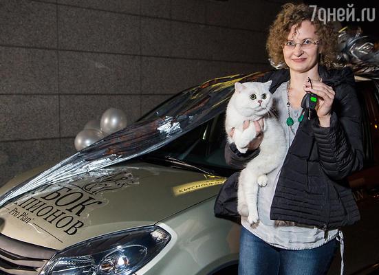 Обладателем «Кубка чемпионов» стал кот породы Британская короткошерстная по имени Проспер Сильвер Мормо! Владельцу победителя торжественно вручили ключи от главного приза – автомобиля!