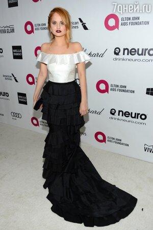 Дебора Райан в платье от LUBLU Kira Plastinina