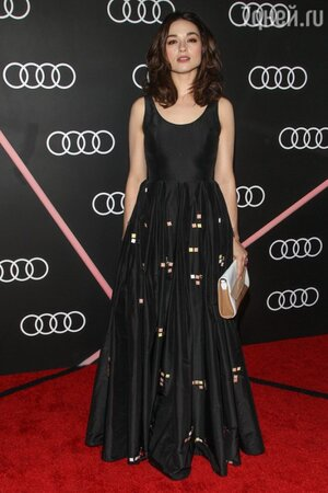 Кристал Рид в платье от LUBLU Kira Plastinina