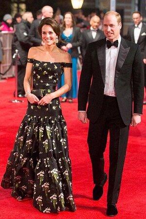 Герцогиня Кембриджская и ее супруг