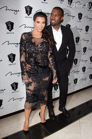 ��� ��������� (Kim Kardashian) � ����� ���� (Kanye West)