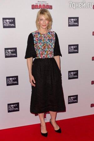 Кейт Бланшетт в платье Chanel