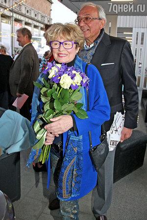 Марина Неелова с мужем Кириллом Геворкяном