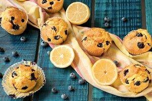 Чернично-лимонные маффины: рецепт от кондитера Бадди Валастро