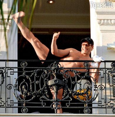 50-летний актер находится в превосходной физической форме