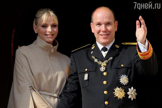 Шарленн Уиттсток и Альбер II