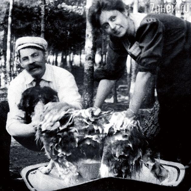 Максим Горький и  Мария Андреева