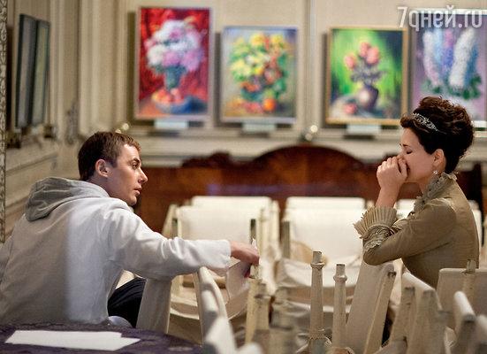 В перерывах между дублями Катя и Игорь не разбегались поразным углам, а как ни в чем не бывало, общались друг с другом