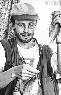 Иногда мы ездили на рыбалку. Саша — заядлый рыбак, а в Гудзоне рыбы немерено