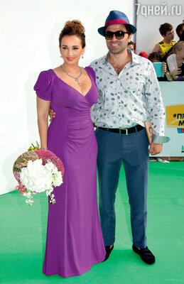 Анфиса Чехова с Гурамом Баблишвили