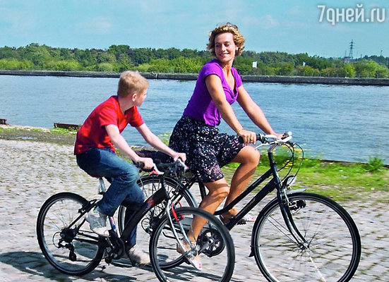 Кадр фильма «Мальчик с велосипедом»