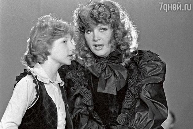 Алла Пугачева и Кристина Орбакайте. 1983 год