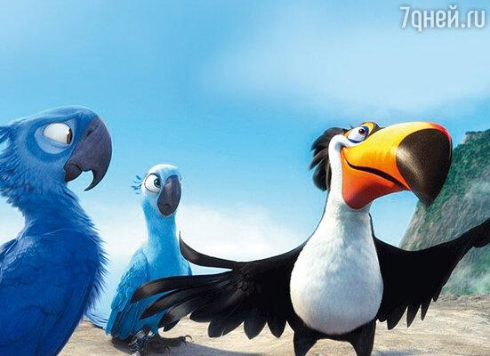 Кадр из фильма «Рио»