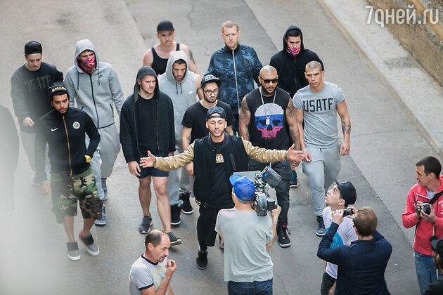 Съемки клипа рэпера L'One на песню «Будь первым»