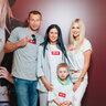 Виктория  Лопырева, Василий и Ольга Березуцкие  с  сыном