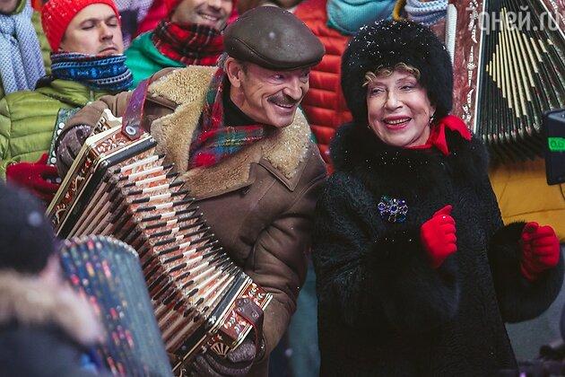 Михаил Боярский и Инна Чурикова