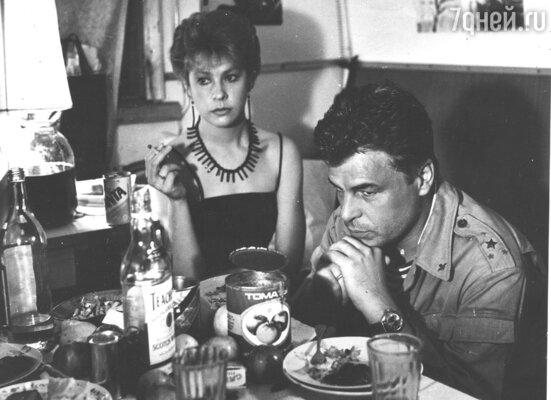 С Микеле Плачидо в фильме «Афганский излом», 1990 год
