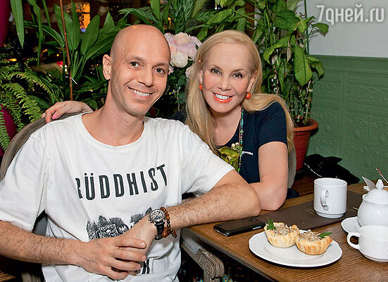 Нелли Кобзон с сыном Андреем