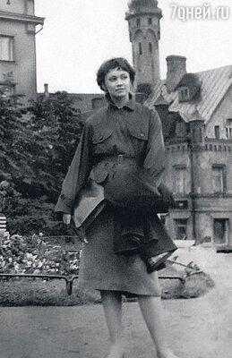 Детство и юность Лариса Лужина провела в Таллине