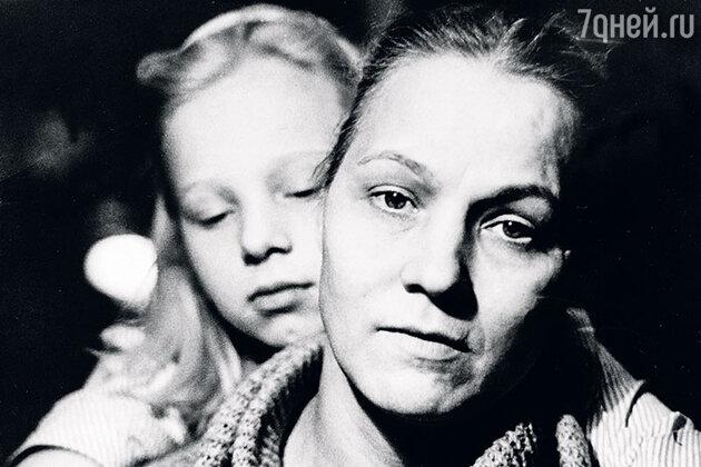 Нина Русланова с дочерью