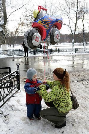 Татьяна Абрамова с сыном Ваней