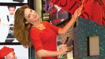 Екатерина Климова подготовилась к праздникам в Vegas